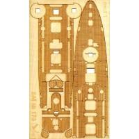 170/3 Палубы из деревянного шпона к модели #170 Brooklyn