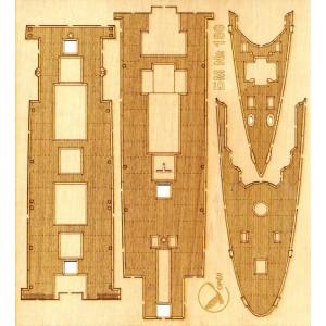 180/3 Палубы из деревянного шпона к модели #180 Проект инженера И. А. Гаврилова