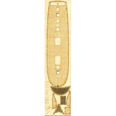 182/3 Палубы из деревянного шпона к модели #182 Байкал