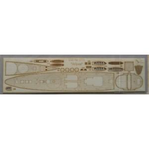 213/3 Палубы из деревянного шпона к модели #213 «Абрек»