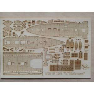 251/3 Палубы из деревянного шпона к модели #251 D'Estrées