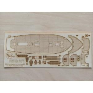 271/3 Палубы из деревянного шпона к модели #271 Pantaloon