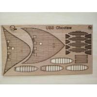 285/3 Палубы из деревянного шпона к модели #285 Сhoctaw