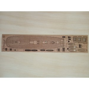 289/3 Палубы из деревянного шпона к модели #289 Мирный