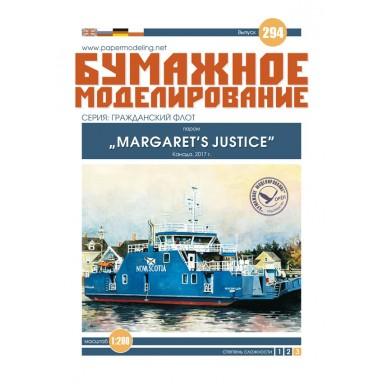 """#294 Паром """"Margaret's Justice"""""""