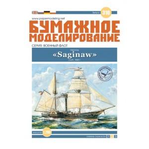 # 310 Пароход «Saginaw»