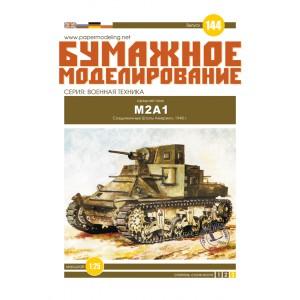 #144 Средний танк М2А1