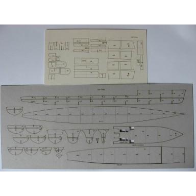 """153/2 Лазерная резка к модели №153 """"Туча"""""""